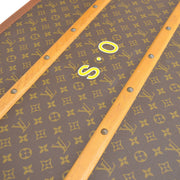 LOUIS VUITTON TRAVEL HAND BAG TRUNK HARD CASE MONOGRAM VINTAGE