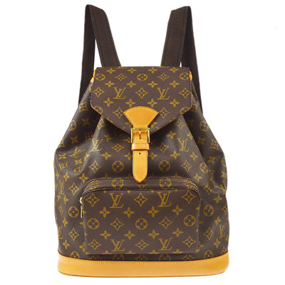 LOUIS VUITTON MONTSOURIS GM BACKPACK BAG MONOGRAM M51135