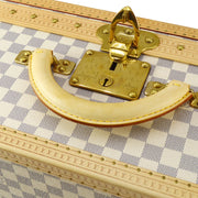 LOUIS VUITTON ALZER 70 TRUNK HARD CASE BAG DAMIER AZUR