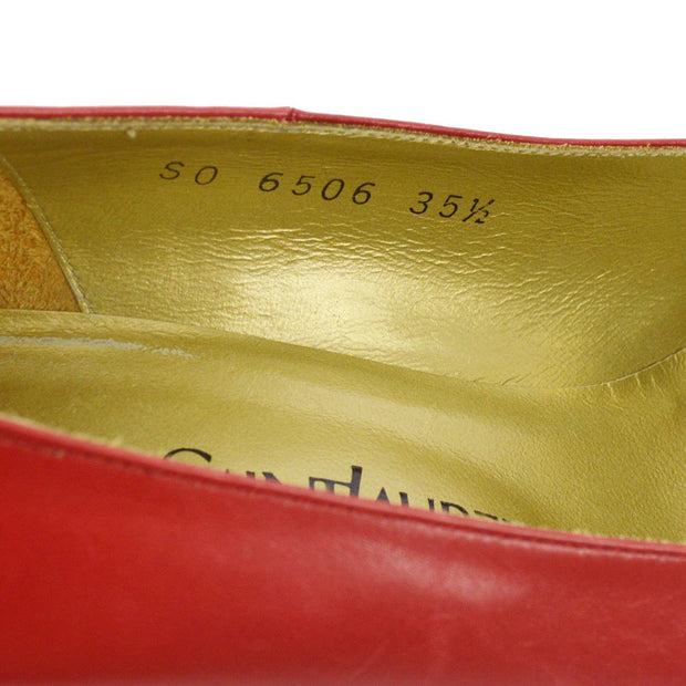 Yves Saint Laurent Shoes Pumps Red #35 1/2