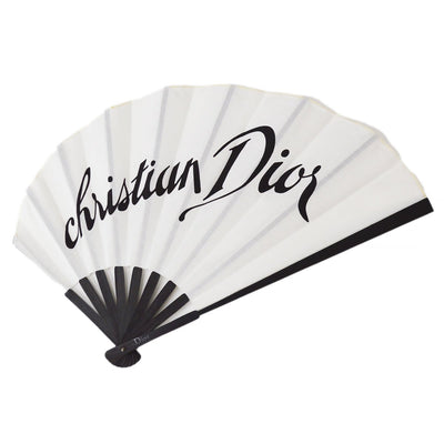 Christian Dior Eventail Fabric Fan With Perfume Samples