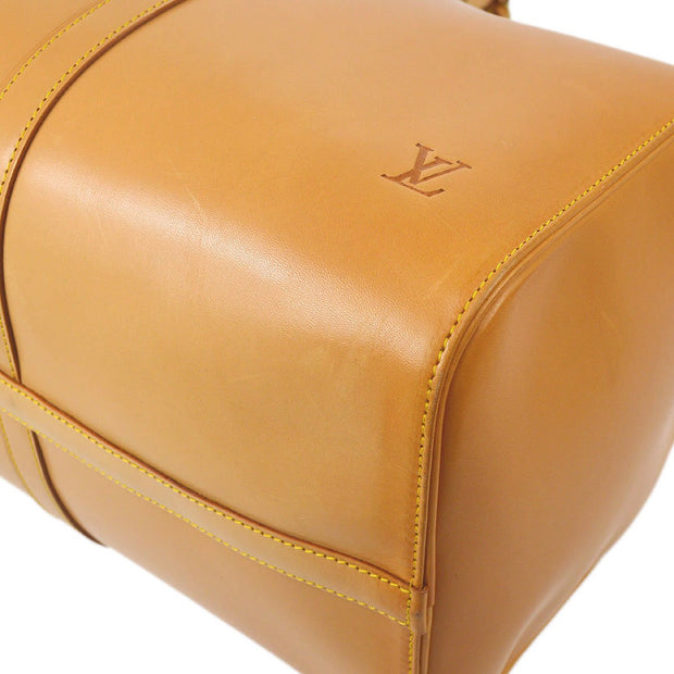 LOUIS VUITTON KEEPALL 50 TRAVEL HAND BAG NATURAL NOMADE SP ORDER