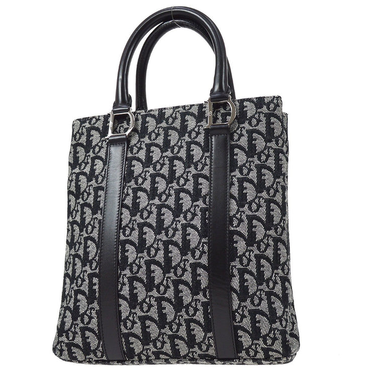 Christian Dior Trotter Hand Tote Bag Black