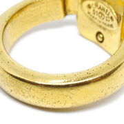CHANEL Ring Gold Size 6.5 01P