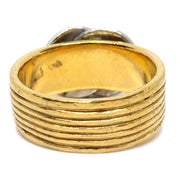 CHANEL Ring Gold Size 7 00A