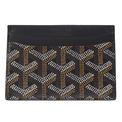 GOYARD Saint Sulpice Card Holder Wallet Black