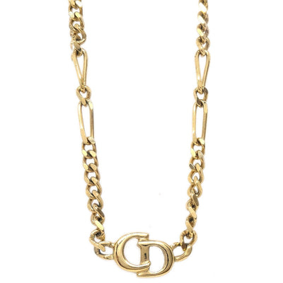 Christian Dior Necklace Gold Chain