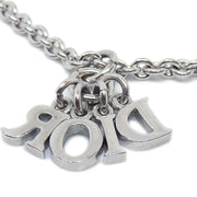 Christian Dior Silver Chain Pendant Necklace