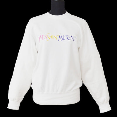 Yves Saint Laurent Sweatshirt White #M