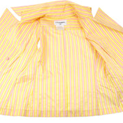 CHANEL 04C #34 Sleeveless Shirt Pink Yellow