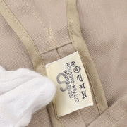 HERMES Double Breasted Jacket Beige #38