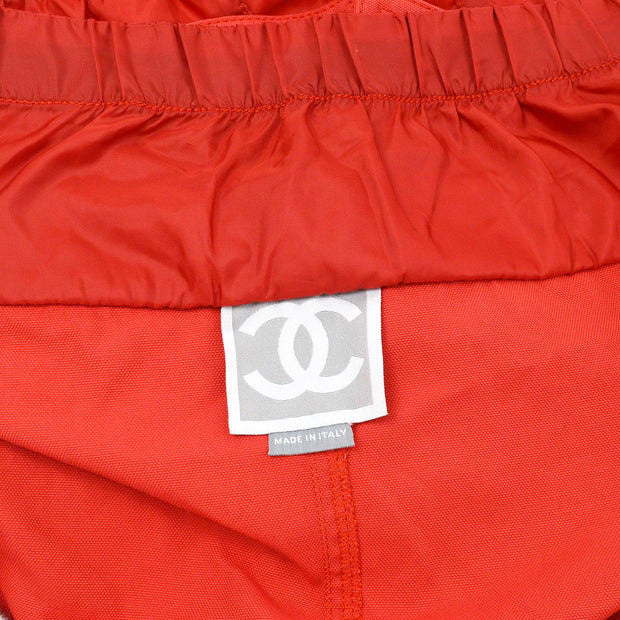 CHANEL 03A #36 Sports Line Mini Skirt Red