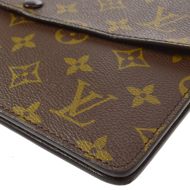 LOUIS VUITTON DOUBLE RABAT SHOULDER BAG MONOGRAM M51815