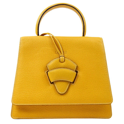 LOEWE BARCELONA 2way Hand Bag Yellow