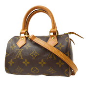 LOUIS VUITTON MINI SPEEDY 2WAY HAND BAG MONOGRAM M41534