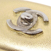 CHANEL Hair Barrette Gold