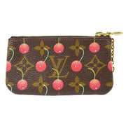 LOUIS VUITTON MONOGRAM CHERRY POCHETTE CLES COIN CASE WALLET M95042
