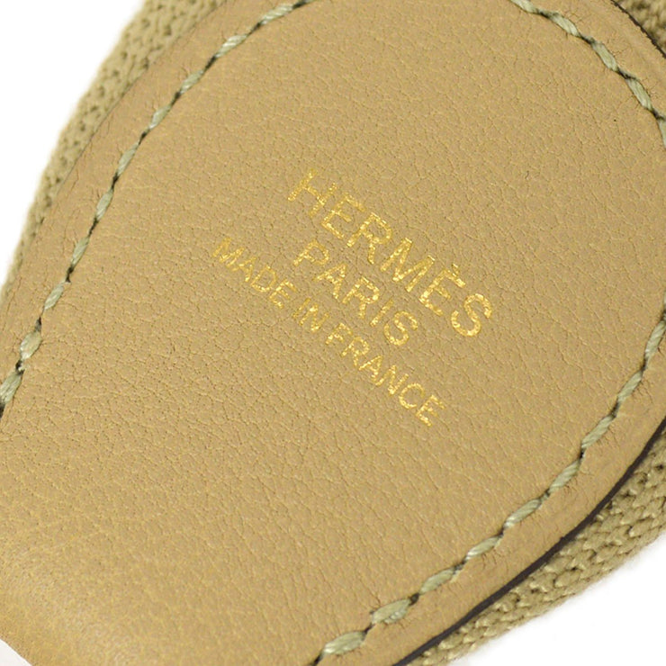 HERMES Shoulder Strap for Toolbox Beige