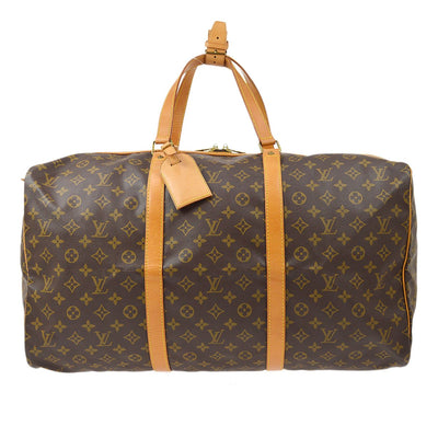 LOUIS VUITTON SAC SOUPLE 55 TRAVEL HAND BAG MONOGRAM M41622