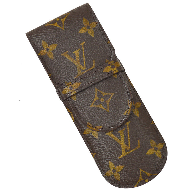 LOUIS VUITTON MONOGRAM ETUI STYLOS PEN CASE M62990