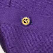 CHANEL Setup Jacket Skirt Purple