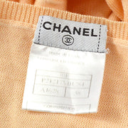 CHANEL 03P #38 T-shirt Tops Orange