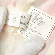 CHANEL 97P #38 One Piece Dress Skirt Pink