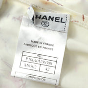 CHANEL 98C #42 T-shirt Swimwear Swimsuit Ivory