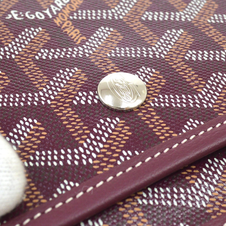 GOYARD PLUMET Shoulder Bag Pochette Purple
