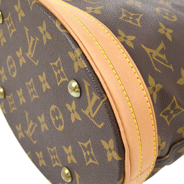 LOUIS VUITTON BUCKET PM SHOULDER TOTE BAG MONOGRAM M42238