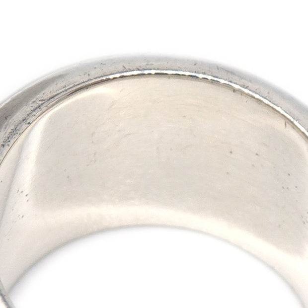 CHANEL Ring Silver SV925 Size 6