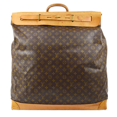 LOUIS VUITTON Duffle STEAMER 55 JUMBO TRAVEL HAND BAG MONOGRAM M41124
