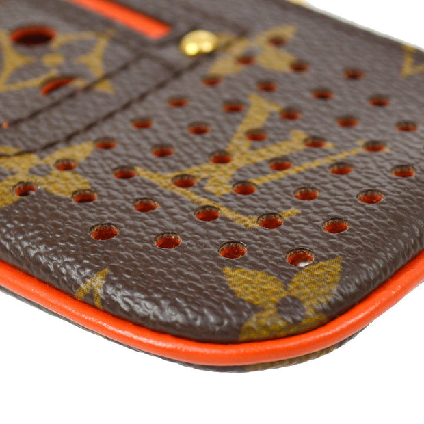 LOUIS VUITTON MONOGRAM PERFO POCHETTE CLES COIN CASE WALLET M95222