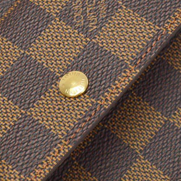 LOUIS VUITTON PORTEFEUILLE ELISE WALLET DAMIER N61654