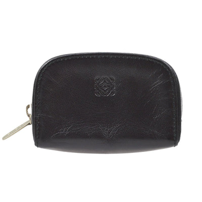 LOEWE Coin Purse Wallet Black