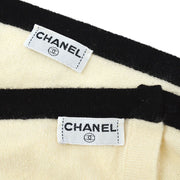 CHANEL Ensemble Cardigan Tops Ivory