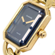 CHANEL Premiere Gold Quartz K18/750 #M Watch