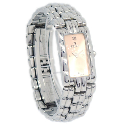 FENDI 660L Wristwatch Watch Quartz Silver