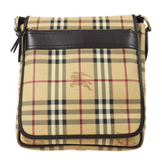 BURBERRY House Check Shoulder Bag Beige