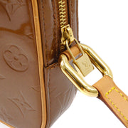 LOUIS VUITTON CHRISTIE PM SHOULDER BAG BRONZE M91111
