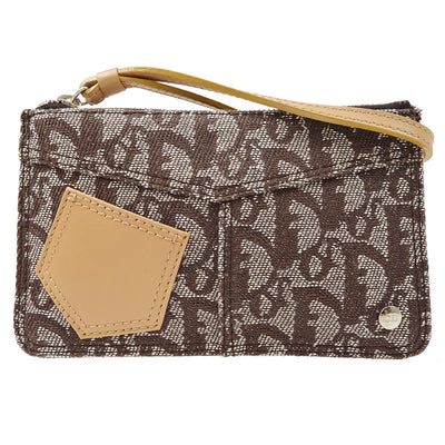 Christian Dior Trotter Pouch Brown