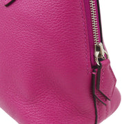 HERMES BOLIDE MINI 2way Hand Bag Rose Purple Evercolor Leather