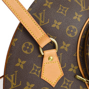 LOUIS VUITTON ELLIPSE SHOPPING SHOULDER TOTE BAG MONOGRAM M51128