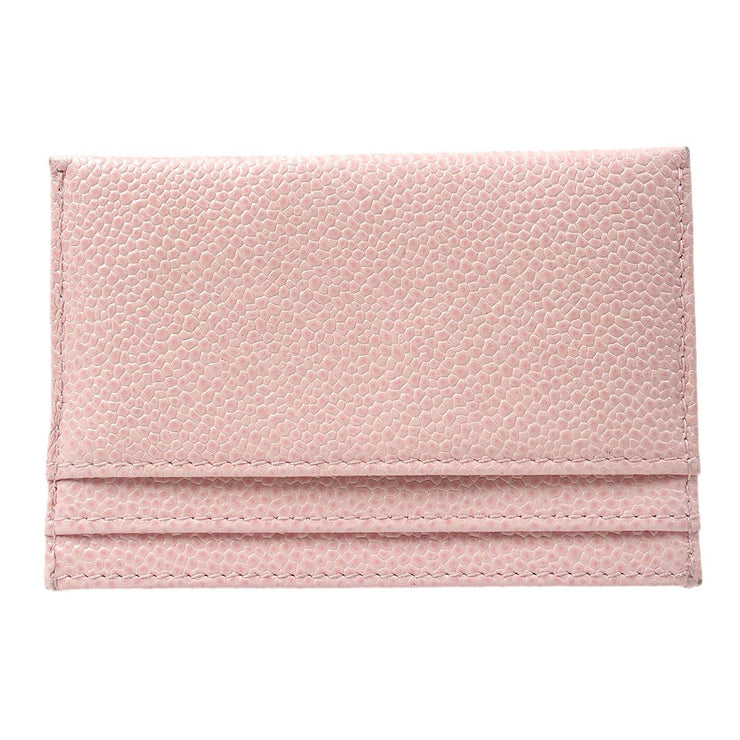 CHANEL Card Case Pink Caviar Skin