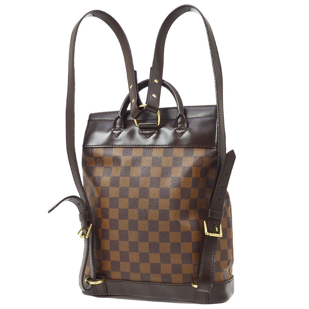 LOUIS VUITTON SOHO BACKPACK HAND BAG DAMIER N51132