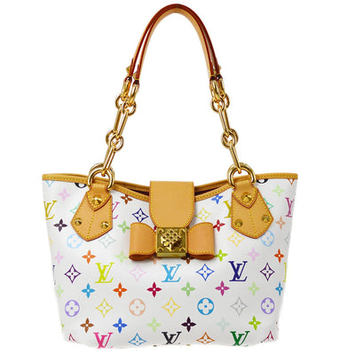 LOUIS VUITTON ANNIE MM HAND TOTE BAG MULTI-COLOR M40307