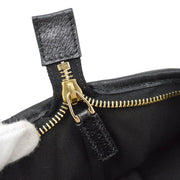 GUCCI GG Pattern Hand Bag Black