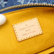 LOUIS VUITTON BAGGY PM SHOULDER BAG MONOGRAM DENIM M95049