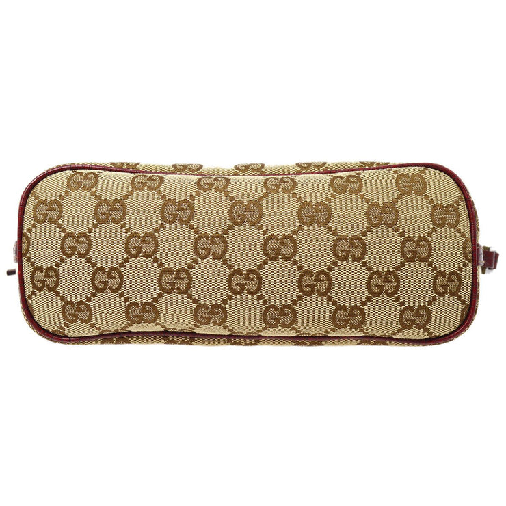 GUCCI GG pattern Hand Bag Brown