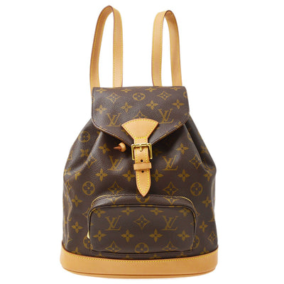 LOUIS VUITTON MONTSOURIS MM BACKPACK BAG MONOGRAM M51136